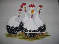 ~galinhas pintura em tecido - Pesquisa do Google~