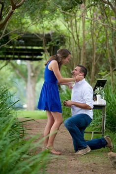 Everything about this proposal is so adorable, and her reaction is priceless!