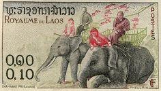 Sello de Laos