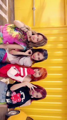 "#BLACPINK ""As if It's Your Last"" Kpop Girl Groups, Korean Girl Groups, Kpop Girls, Blackpink Youtube, Blackpink Square Up, Blank Pink, Divas, Lisa Blackpink Wallpaper, Black Pink Kpop"