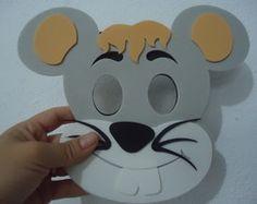 Máscara de Rato -Sapeca