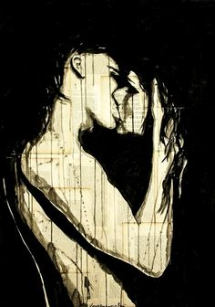 bestof-society6:ART PRINTS BYKRYZANOWSKI ART  R08  ENJOYMENT  KISS  FOREVER  GOOD NIGHT  TRUE FEELINGS  332  C07  D04