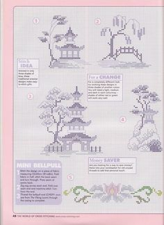 The world of cross stitching 047 июль 2001