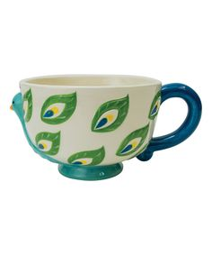 Another great find on #zulily! Peacock Mug by Boston Warehouse #zulilyfinds