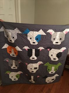 Dog Gone Cute Quilt was made for my grandson was a lot of fun to make.