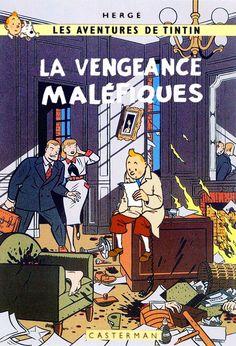 Les Aventures de Tintin - Album Imaginaire - La Vengeance Maléfiques