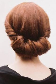 The Rolled-Inside Chignon