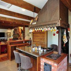 cozinha gourmet externa com churrasqueira - Pesquisa Google