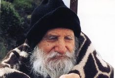 "An illustrated talk on Saint Porphyrios of Mount Athos who was canonized a saint in 2013 and is the author of the beloved book ""Wounded by Love. Santa Bernadette, Kai, Beloved Book, Byzantine Icons, Orthodox Christianity, Documentaries, Saints, Winter Hats, People"