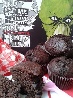 Double Chocolate Chip Muffins (Muffins de chocolate y chips)