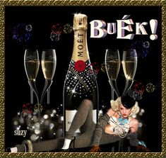 Flute, Happy New Year, Champagne, Tableware, Anna, Holidays, Vacations, Dinnerware, Holidays Events