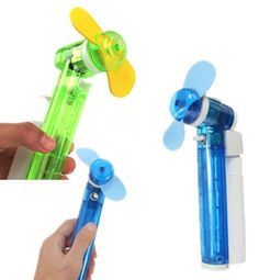 Mini Handheld Cooling Water Spray Mist Fan Bottle Perfect Cool Partner Portable# It's gonna be hot at the cookoff! Giveaways?