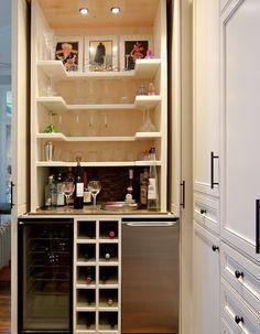bar on a closet - Pesquisa Google