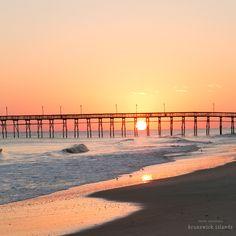 Sunset on Ocean Isle Beach, NC