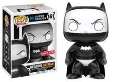 Funko Pop Vinyl DC Comics Heroes 161 Negative Batman Target for sale online Funko Pop Figures, Vinyl Figures, Action Figures, Madrid Barcelona, The Witcher, Marvel, Batman Figura, Dragon Ball, Otaku