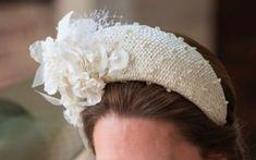 Kate's Jane Taylor Millinery Cream Floral Headband Fascinator
