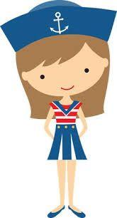 Resultado de imagen de minus.com Photo Deco, Clip Art Pictures, Nautical Party, Boy Character, Cute Clipart, Cute Illustration, Girl Cartoon, Scrapbooking Layouts, Paper Dolls