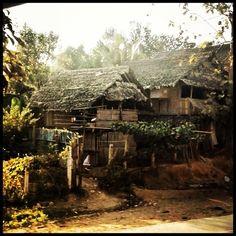 Mae La refugee camp - Mae Sot, Thailand The refugees are Burmese
