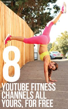 Our top 8 FREE youtube fitness channels!