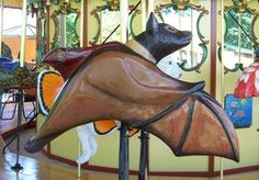Detroit Zoo Carousel Carousel Works Bat- National Carousel Association