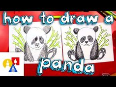 How To Draw A Panda - Art For Kids Hub -