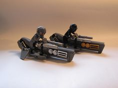 B-5G Hawk Speeder Bikes | by RΟΟK