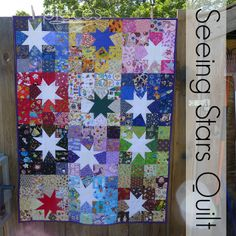 Love this I Spy quilt at Pieces by Polly