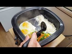 Chinese Mixed Vegetable Egg Fried Rice in Multicooker Chinese Mixed Vegetables, Multicooker, Griddle Pan, Fried Rice, Fries, Easy Meals, Eggs, Youtube, Food