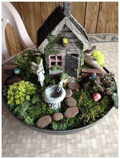 58 Best DIY Fairy Garden Ideas / Fairy Garden Houses : solnet-sy.com