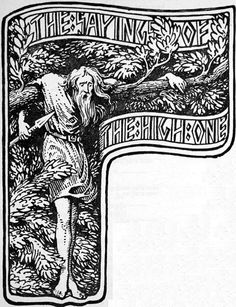 From the Old Norse text, Havamal: I know that I hung on a windy tree nine long nights, wounded with a spear, dedicated to Odin, myself to myself, on that tree of which no man knows from where its roots run. No bread did they give me nor a drink from a horn, downwards I peered; I took up the runes, screaming I took them, then I fell back from there.
