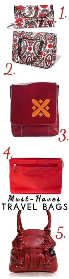 "Our Jewel & Audrey featured on ""Blissfully Domestic's"" Five Must Have Bags for Travel"