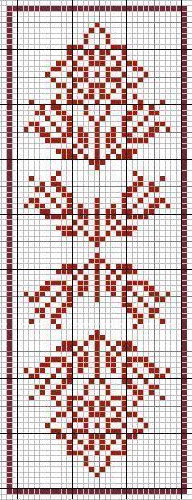 Simple Redwork Cross stitch pa