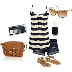love the bag and sandals