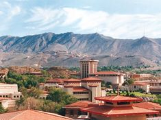 The University of Texas at El Paso has unique architecture inspired by Bhutan  #VisitElPaso