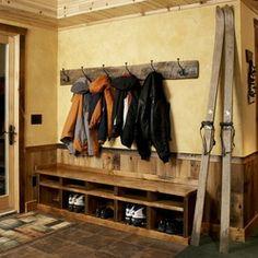 Rustic Mudroom Design Ideas, Pictures, Remodel and Decor