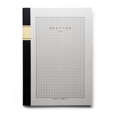 Japanese Grid Notebook 40 sheets (80 pages) of smooth, cream colored paper with a light grey 5mm grid. Bleed-proof sheets suitable for penci...