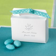 $0.79 per box    Use one of our fanciful ribbons to add a flourish of color to this little tote,