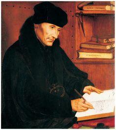 † Desiderius Erasmus (October 27, 1466 - July 12, 1536) Dutch theologist, humanist, philosopher and writer.