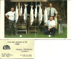 SQ9DEK   Poland  World champion in 1987 in fly Fishing very good friend :) On left side