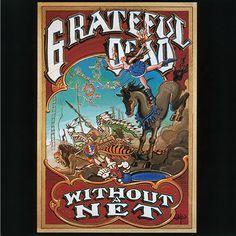 without a net tour Grateful Dead Frankfurt Festhalle 1990 concert poster