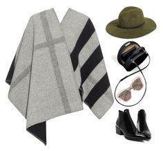 """Burberry look"" by imperiouspuma ❤ liked on Polyvore featuring Burberry, rag & bone and Miu Miu"