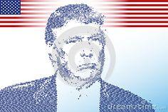 Donald Trump, editorial, vector file, illustration