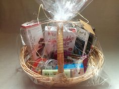 Sample Dark Chocolate Gift Basket That is Quick and Easy to Assemble