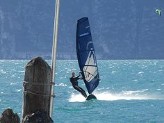 Windcenter Capo Reamol 2013 Lake Garda, Weird Pictures, Kite, Fighter Jets, Surfing, Hs Sports, Windsurfing, Water, Dragons