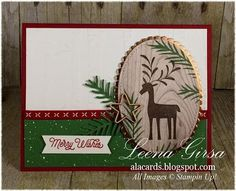 Merry Mistletoe stamp set from Stampin' Up@