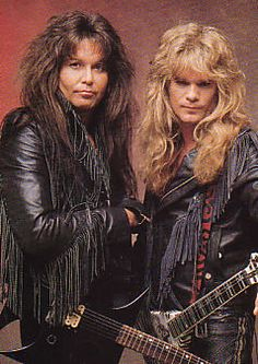 Chris Holmes y Blackie Lawness ,dos bellezones Heavy Metal Rock, Heavy Metal Music, Heavy Metal Bands, Glam Metal, Hard Rock, 80s Hair Metal, 80s Hair Bands, Tribute, Rockn Roll