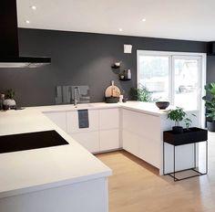 Kitchen Interior, Modern Interior, Interior Design, Kitchen Utilities, Küchen Design, Interior Inspiration, Kitchen Dining, Sweet Home, Minimalist