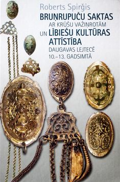 An awesome 500+ page book about tortoise brooches and chain ornaments among the Livs of the Daugava in Late Iron Age Latvia. Here is a summary in English: http://www.docstoc.com/docs/70993239/Roberts-Spir-is-10th-13th-Century-Daugava-Liv-Pectoral-Chain. They are usually not difficult to distinguish from Norse tortoise brooches.