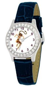 Disney Women's D1507S009 Queen Collection Fawn Blue Leather Strap Watch Disney. $13.37