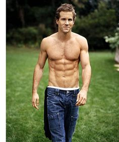 Ryan Reynolds mmmmmm I almost put him under comfort food lol That would have been fitting